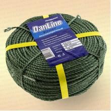 Шнур Danline, крученый, бухта 100 метров, диаметр 3,0 мм, разрыв 160 кг
