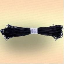 Шнур полиэфирный хозяйственный  200 м, диаметр 2 мм, цвет черный