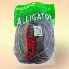 Одностенная Alligator, высота 1,8 м, длина 30 м, ячея 60 мм