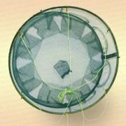 Раколовка на пружине, круглая, 8 входов
