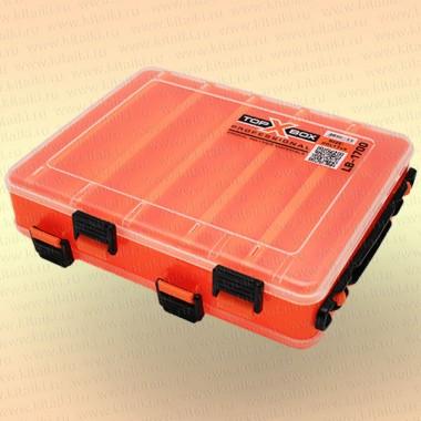 Коробка TOP BOX LB- 1700 (20*17*5 cм), оранжевая