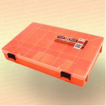 Коробка TOP BOX TB- 2400 (27*19*4,5 cм) оранжевая