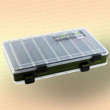 Коробка TOP BOX LB- 2500 (27*18,5*5 cм) зеленая
