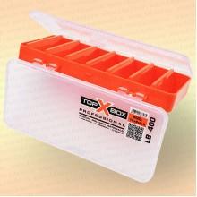 Коробка TOP BOX LB- 400 (18*8*2,5 cм) оранжевая