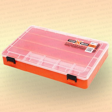 Коробка TOP BOX TB- 2000 (25*20*4 cм) оранжевая