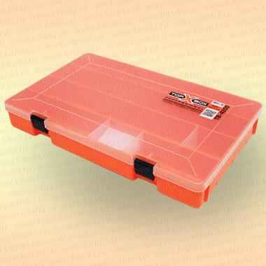 Коробка TOP BOX TB- 4200 (36*23.5*5 cм) оранжевая