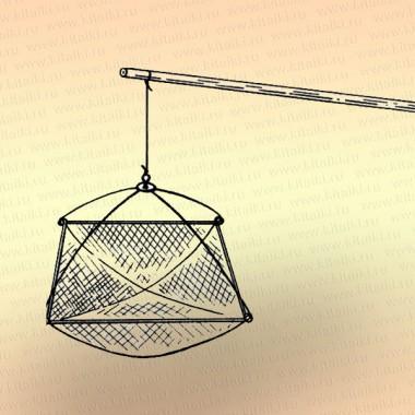 Шест для подъемника рыболовного, длина 4,5 м, алюминий
