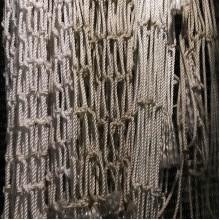 Дель веревочная, 3,1 мм, ячея 70 мм, высота 7 м, белая