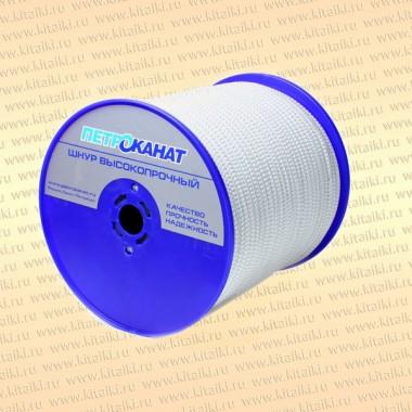 Фал плетеный Тайфун, 10 мм, длина 220 м, тест 2100 кг, катушка