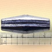 Грузила с разрезом для сетей коническое, упаковка 10 шт., 50 гр. 42 мм, диаметр отверстия 6 мм