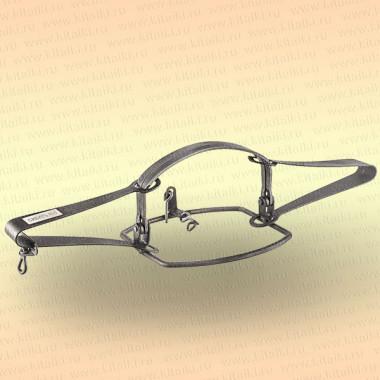Капкан охотничий металлический симочный, Сибирь-5