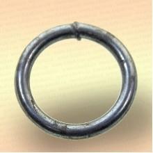 Кольцо грузовое для сетей, оцинкованное 10 * 80 мм, 222 гр