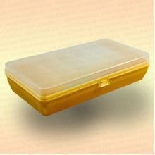 Коробка для рыболовных принадлежностей, желтая, малая