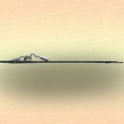 Косынка Kippik складная, 2,4 х 2,4 м, скрученная леска, ячея 30 мм