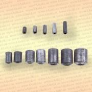 Грузила для сетей, упаковка 10 шт, 20 гр 20 мм, диаметр 12 х 6 мм