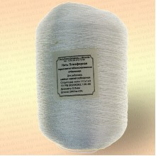 Нить полиэфирная термо-свето-стабилизированная особопрочная, белая, 400 гр