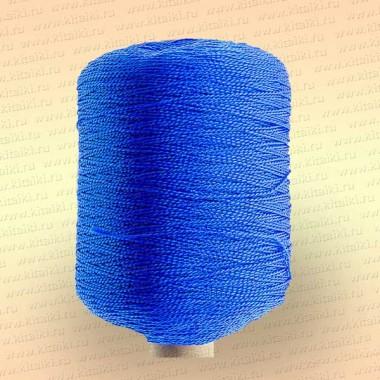Нить полиэфирная термо-свето-стабилизированная особопрочная, синяя, 400 гр