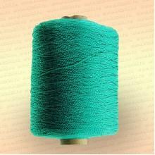 Нить полиэфирная термо-свето-стабилизированная особопрочная, зелёная, 400 гр