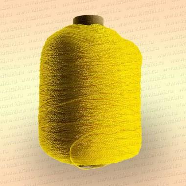 Нить полиэфирная термо-свето-стабилизированная особопрочная, жёлтая, 400 гр