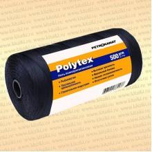 Нитки Polytex 210 den/60, 2,00 мм, 500 гр, чёрная