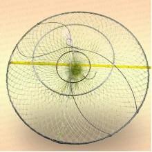 Раколовка D=650 мм, 3 кольца, вход 200 мм