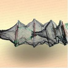 Раколовка гармошка 24 входа 20 х 30 см, длина 8 м