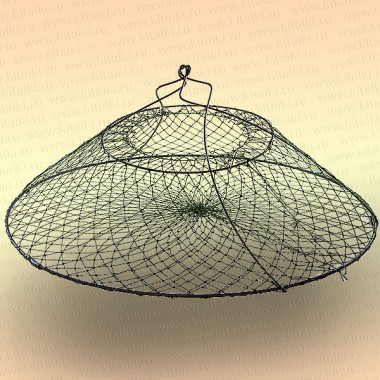 Раколовка раскладушка с манжетой, для лова раков, D=400 мм