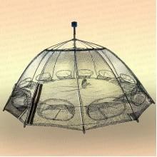 Раколовка зонт 16 входов с ручкой