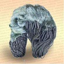 Сеть трехстенная с финскими шнурами: ячея 50 мм высота 1,5 м, длина 30 м капрон 210D/2