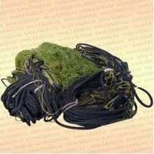 Сеть трехстенная Профи: капрон 29т*2, ячея 60 мм, высота 1,8 м, длина 30 м, шнуры 9/50 гр/м
