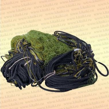 Сеть трехстенная Профи: капрон 29т*2, ячея 40 мм, высота 1,8 м, длина 30 м, шнуры 9/50 гр/м