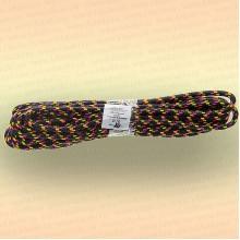 Шнур плетеный универсальный 20 м, диаметр 10 мм, чёрный