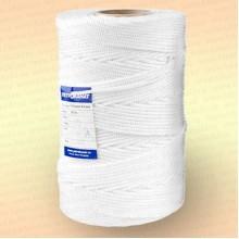 Шнур плетеный Стандарт, на бобине 500 м, диаметр 3,1 мм, цвет белый