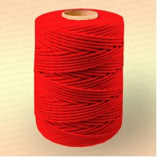 Шнур плетеный Стандарт, на бобине 500 м, диаметр 3,1 мм, красный