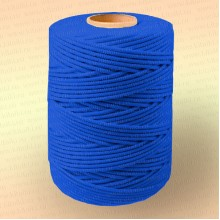 Шнур плетеный Стандарт, на бобине 500 м, диаметр 3,1 мм, синий