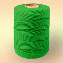 Шнур плетеный Стандарт, на бобине 500 м, диаметр 3,1 мм, зеленый