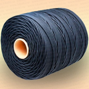 Шнур плетеный Стандарт, на бобине 100 м, диаметр 15 мм, черный
