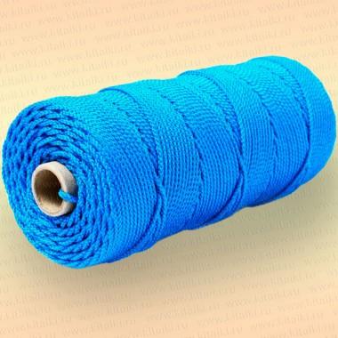 Шнур плетеный Стандарт, на бобине 220 м, диаметр 1,5 мм, синий