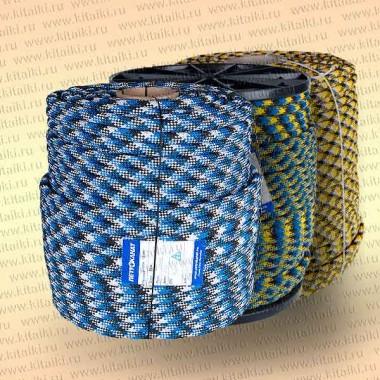 Шнур Аква-Спорт, плетеный, статика, 10 мм, тест 1100 кг, 220 м, еврокатушка