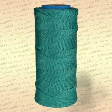 Шнур плетеный Универсал, 2,5 мм, 1000 м, зеленый