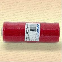 Шнур плетеный Стандарт, на бобине 40 м, диаметр 1,5 мм, красный