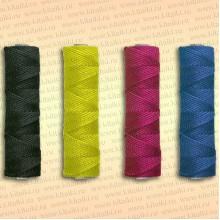 Шнур плетеный Универсал, 2,5 мм, 100 м, черный