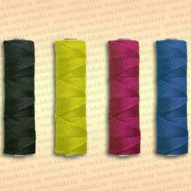 Шнур плетеный Универсал, 2,5 мм, 100 м, желтый