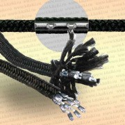 Шнур для рыболовных сетей утяжеляющий, 22 гр/м, 1 м