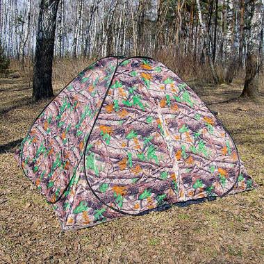 Палатка летняя Автомат КМФ, 2,5 м х 2,5 м