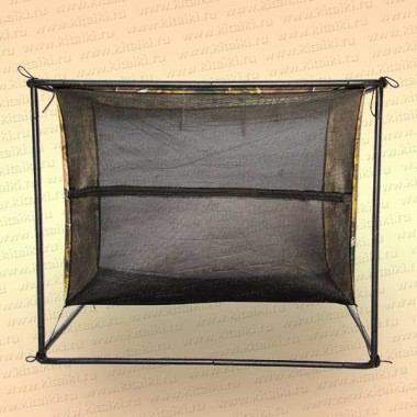 Сушилка для вяления рыбы 3 цепочки с каркасом (сталь)